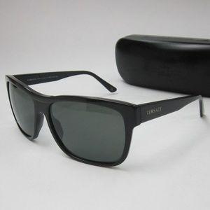 Versace 4179 GB1/58 Sunglasses Men's Italy/OLI455